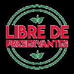 Libre de preservantes